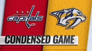01/15/19 Condensed Game: Capitals @ Predators