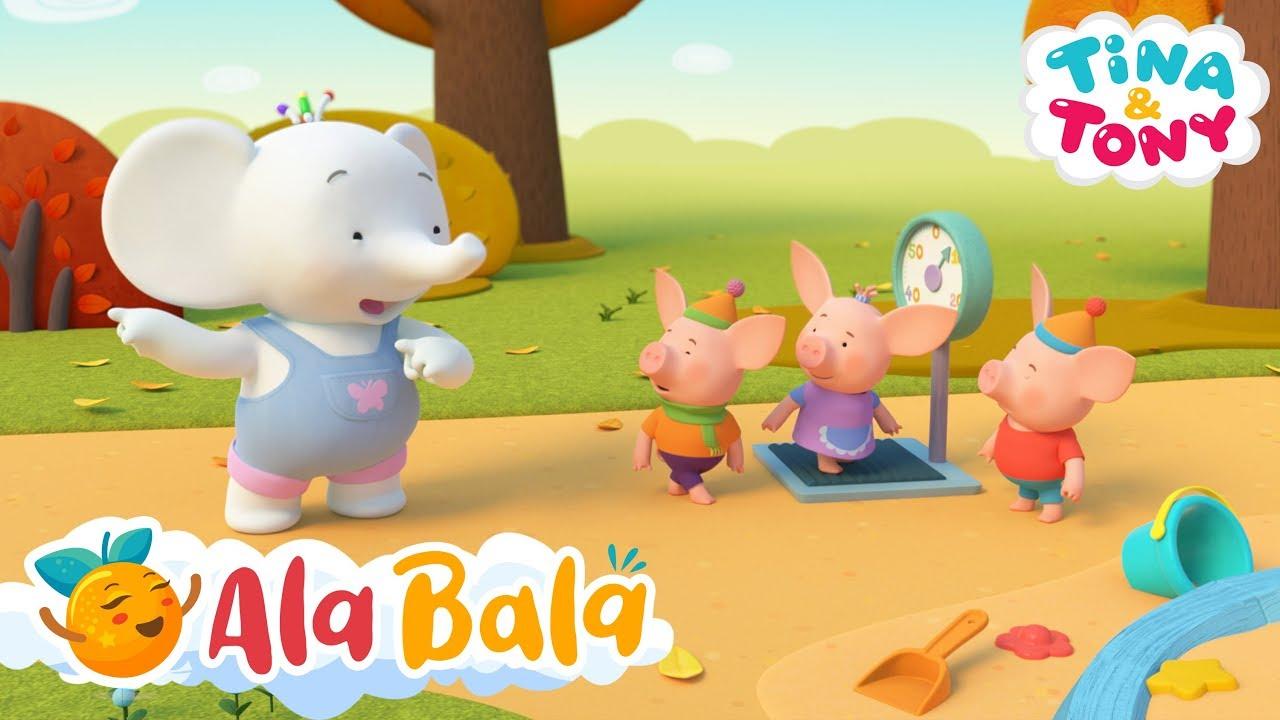 Tina și Tony - 30MIN Desene animate pentru copii | AlaBala