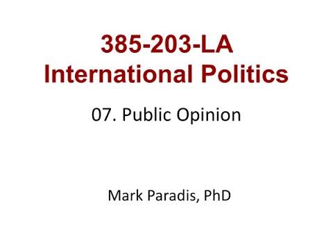 385-203. 07. Public Opinion