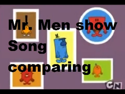 Mr. Men show Song comparing (US and UK)