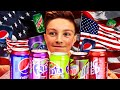 BRITISH TRYING AMERICAN SODA!
