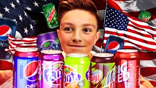 BRITISH TRYING AMERICAN SODA!