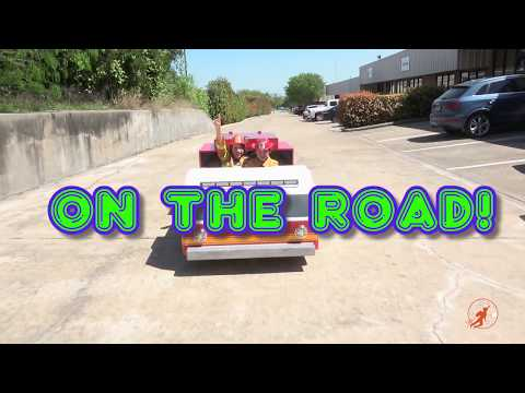 Kids Ride On Fire Engine - Building and Driving from New Sky Kids