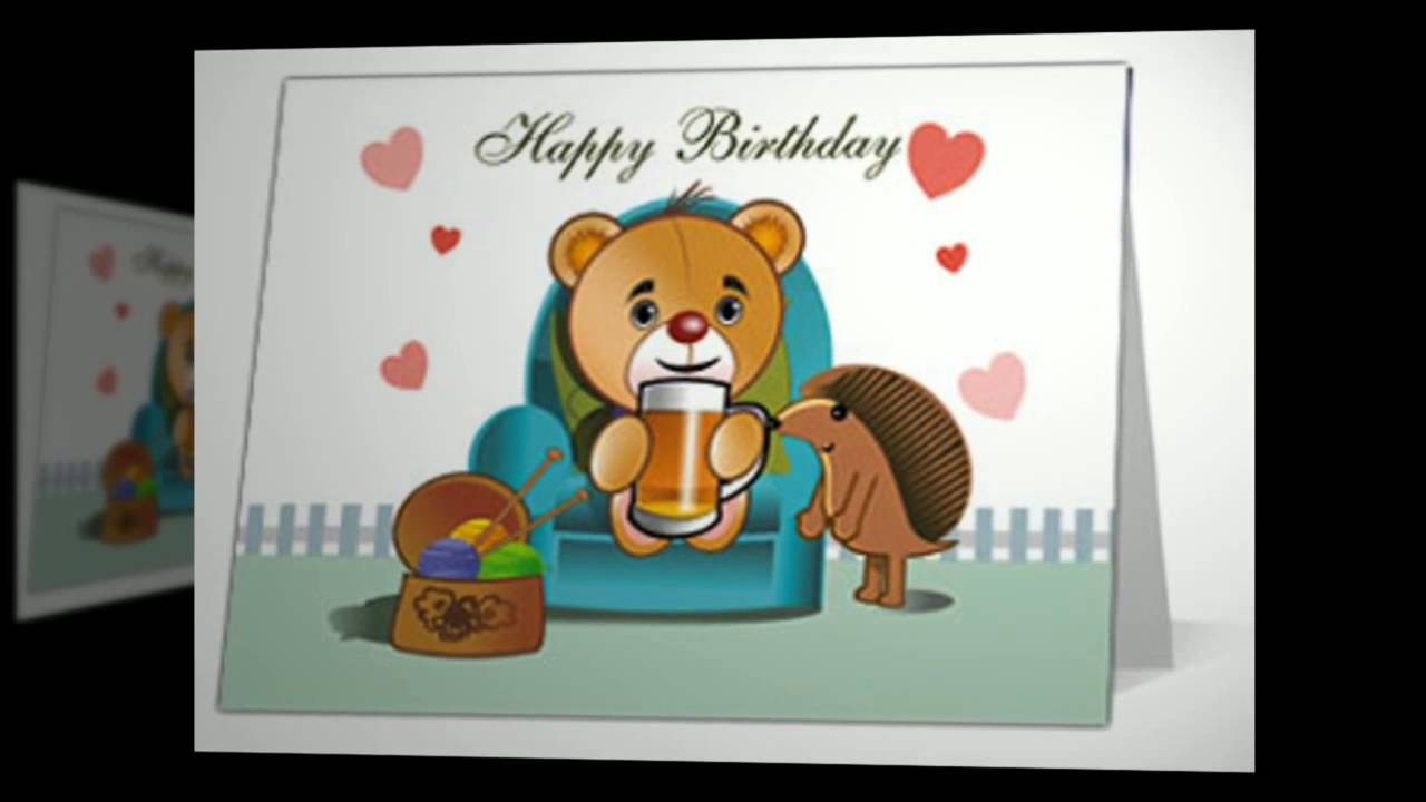 Free Ecards Birthday Funny Bone Time Youtube