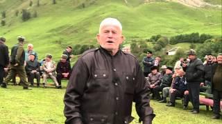 Речь чеченского старца Узум-Хаджи на съезде приуроченной к 100-летию со дня гибели абрека Зелимхана