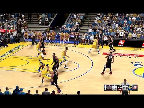 Warriors Basketball 2016 - NBA 2K16 - vs Los Angles Clippers