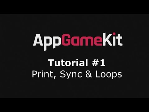 Learn To Program BASIC With App Game Kit - Tutorial #1