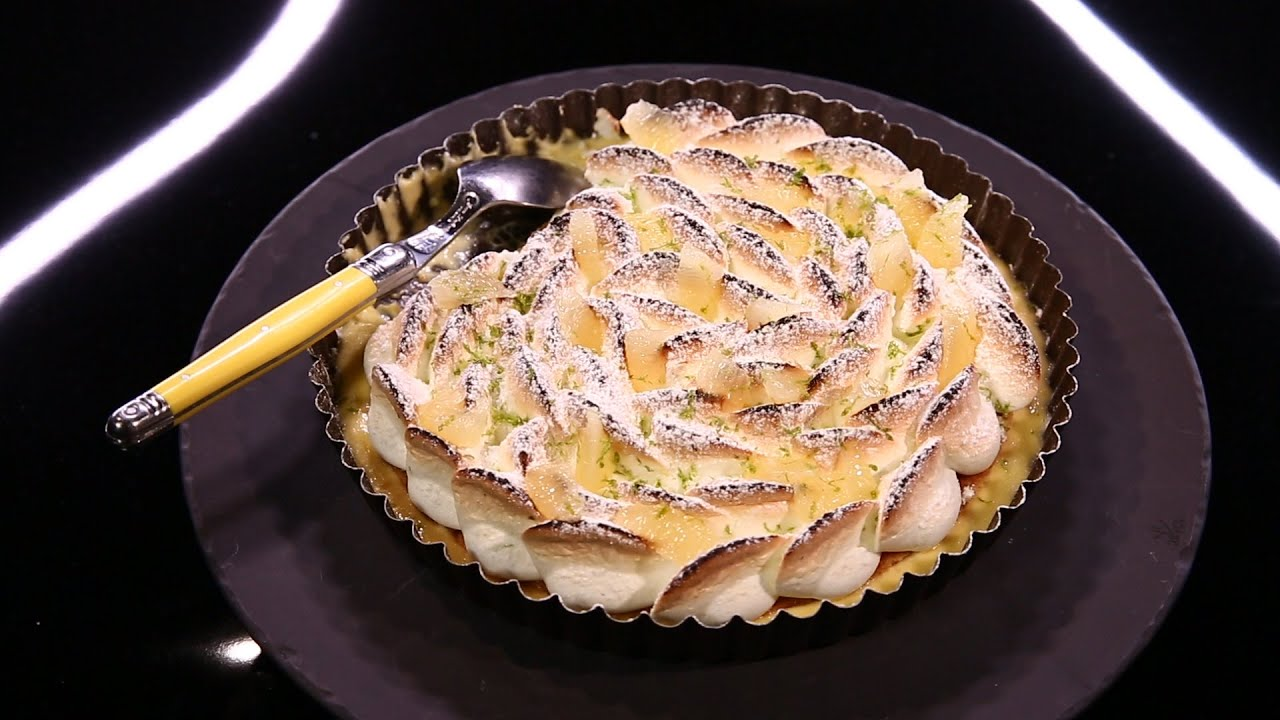 Tarte au citron yuzu meringuée / Christophe …