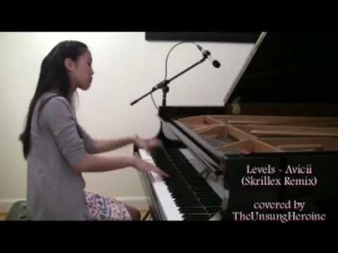 Levels  AviciiSkrillex Remix Piano  WITH DROP