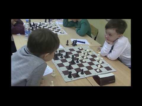 2018-01-26 Misha Osipov - 4 Year Chess Player