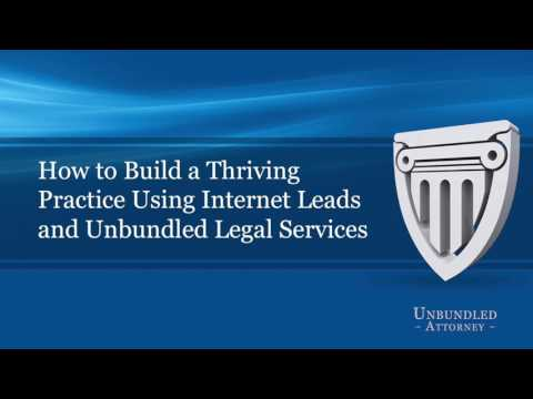 Unbundled Attorney Webinar v1.10