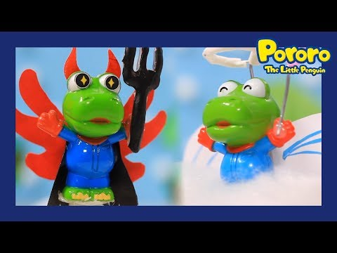 Pororo Toys | #07 Good Crong, Bad Crong | Eat or Not | Pororo's mini world