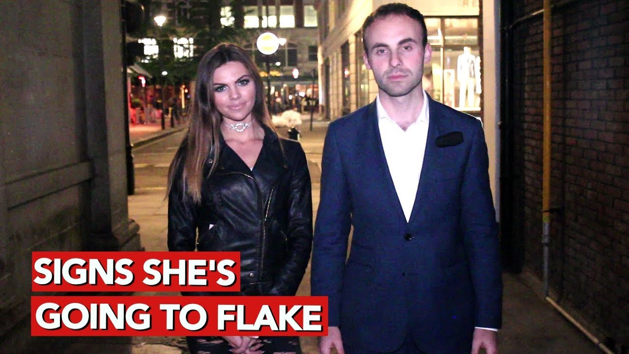 Signs shes going to flake! Flake detection and prevention