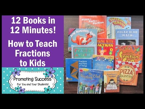 How to Teach Fractions to 3rd & 4th Graders Math Books for Kids