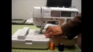 Good Look- Embroidery set up on the Brother SE400 Embroidery and Sewing Machine (beginner)