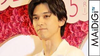 """吉沢亮、""""あざとい女子""""がタイプ「すぐに好きになっちゃう」 新木優子は匂いにひかれ… 映画「あのコの、トリコ。」イベント2 吉沢亮 検索動画 12"""