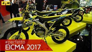 Eicma 2017 - Valenti Enduro e Motard 50 125 2018