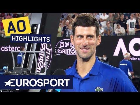 Novak Djokovic on Facing Rafael Nadal | Australian Open 2019 | Eurosport