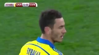 УКРАИНА - СЛОВЕНИЯ 2:0 Обзор матча