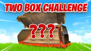 TWO BOX CHALLENGE (Extreme Difficulty...) in Apex Legends Season 1
