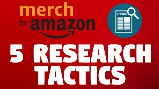 5 Merch by Amazon Research Tips ⚡️ Daily Routine To Find Profitable Niches