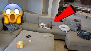 LEAVING BABY HOME ALONE PRANK ON BOYFRIEND