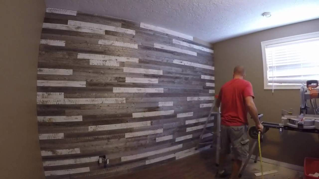 DIY Barnwood feature wall planks - easy to ship and ...