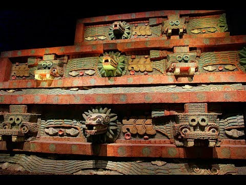 MEXICO - MEXICO CITY (PART 5) - NATIONAL MUSEUM OF ANTHROPOLOGY