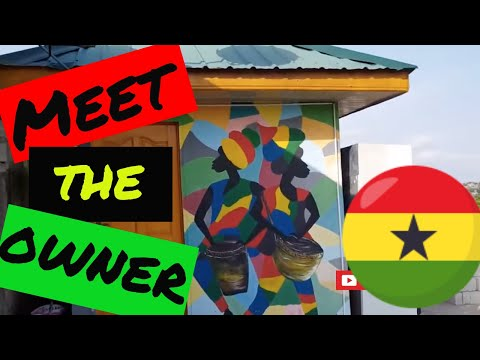 Interview with GHANAIAN HOTEL OWNER in Accra GHANA