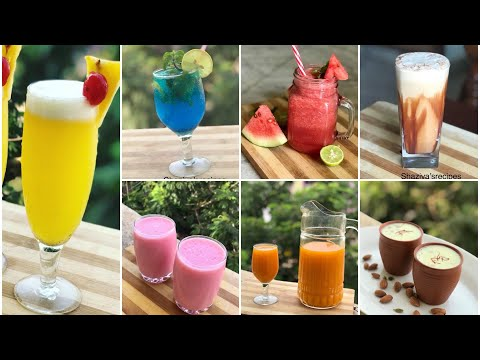 7 refreshing drinks for summer healthy drinks for iftar Ramzan recipes