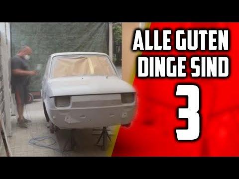 Alle guten Dinge sind 3 ! | Fiat 126 Lack | Clutchkick Robcio