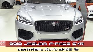 2019 Jaguar F-Pace SVR - Exterior And Interior - 2019 Montreal Auto Show