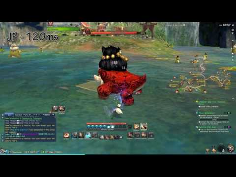 Blade & Soul | Australia to JP/NA Ping Comparision as Lyn Blade Master