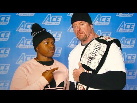 Meeting The Undertaker At Ace Comic Con & WrestlePro!