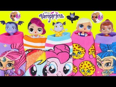 Don't Wake Vampirina Game Disney Surprise Dolls Bedtime Routine New Kid Class Clown Fake Toy School!