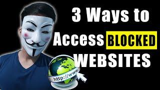 3 Ways to Access BLOCKED WEBSITES without VPN! screenshot 5