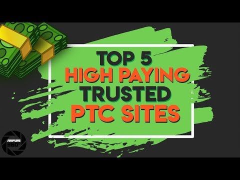 Earn 100$ Daily With Best 5 High Paying PTC Site!! Proof 2017