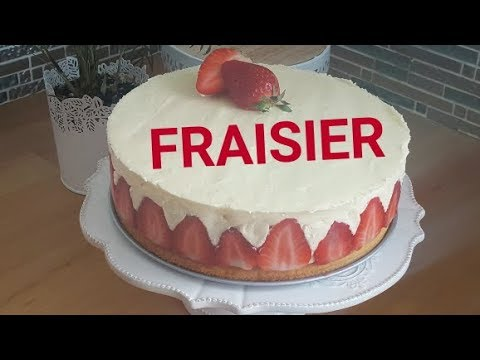 [-ramadan-2019🌙]-recette-fraisier-facile-et-rapide-الفريزيي-أو-كيك-الفراولة