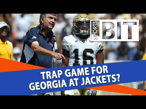 Georgia Bulldogs at Georgia Tech Yellow Jackets | Sports BIT | NCAAF Picks