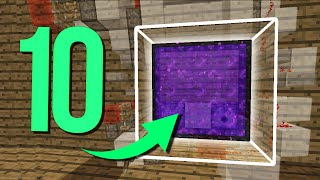 ТОП 10 Самых крутых и полезных механизмов для ВЫЖИВАНИЯ в Minecraft!(ТНТ Пушки, механические двери, автоматические порталы в Ад разных видов, заменитель брони - все это вы увиди..., 2016-02-03T10:53:09.000Z)