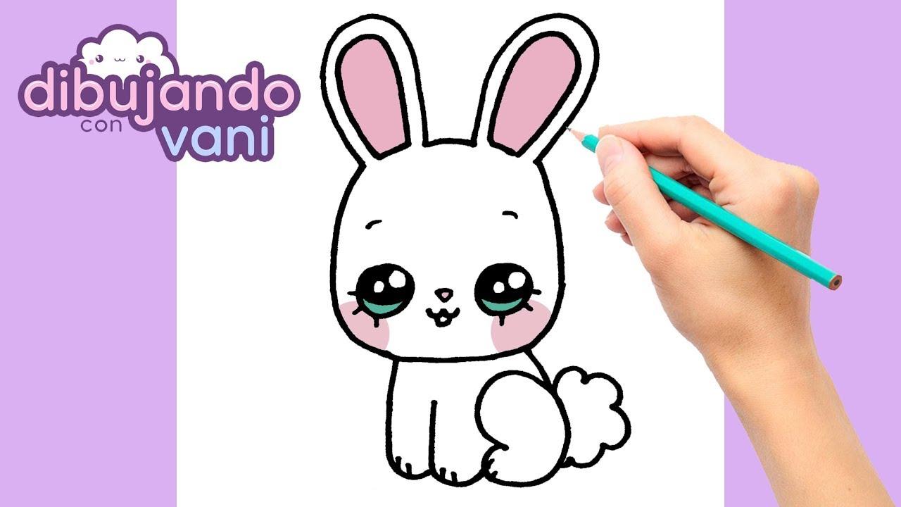 Como Dibujar Un Conejo Paso A Paso Dibujos Kawaii Dibujos Faciles How To Draw A Rabbit Youtube