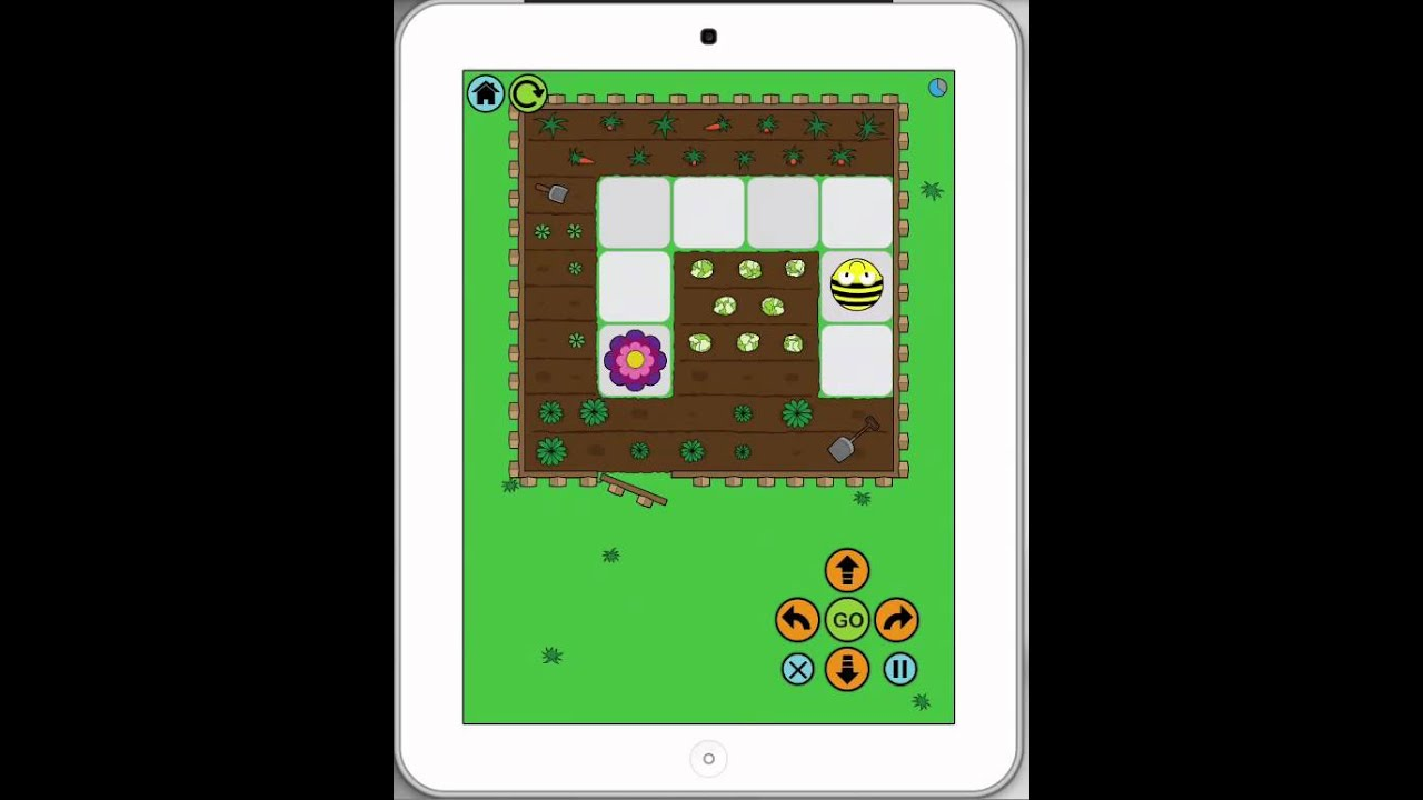 iPads in Schools - How to use BeeBot App - YouTube