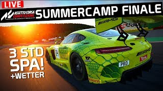 24 Stunden Spa! ABGF ACC Summercamp FINALE LIVE | Assetto Corsa Competizione 1.0.7 German Gameplay