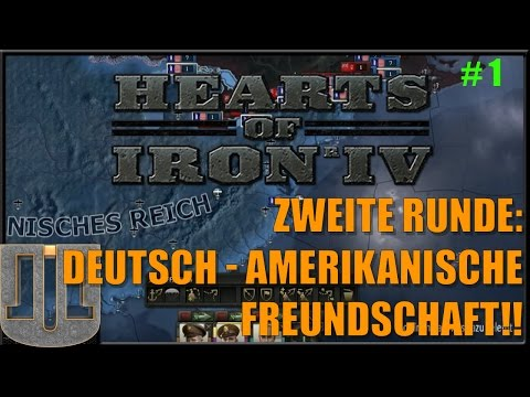 Hearts of Iron IV - Zweite Runde - #1 - Deutsch - Amerikanis