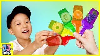 아이스크림 송 인기동요 Ice cream song Nursery rhyme songs for kids القوافي التعليمية وأغاني الأطفال [JJ tube]