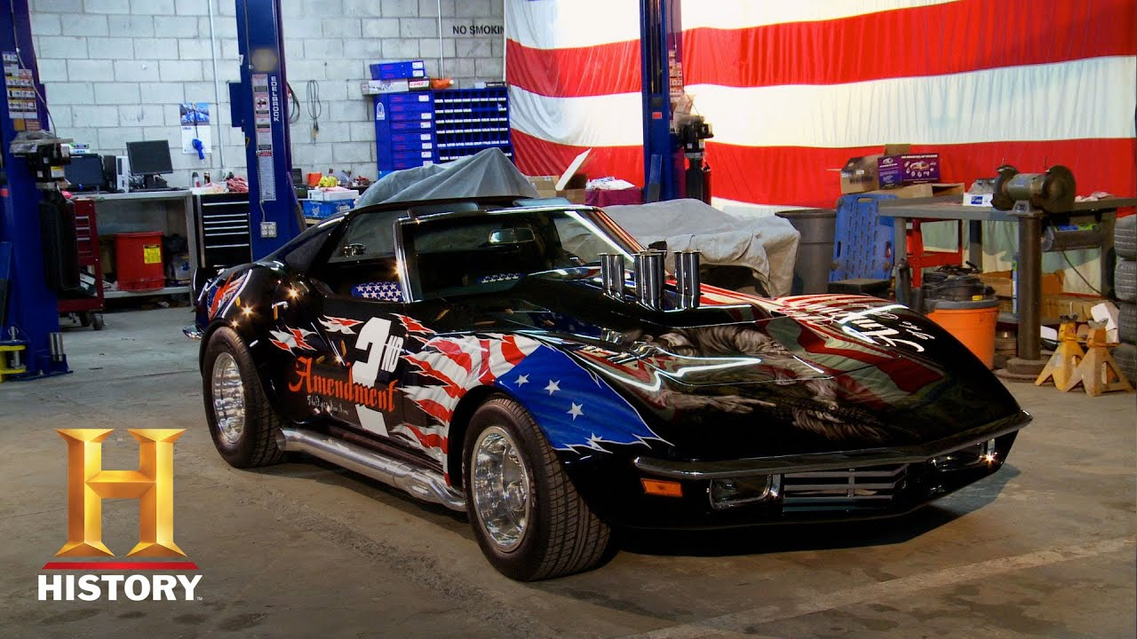 Free Car History Report >> Best of Counting Cars: An All-American Corvette | History - YouTube