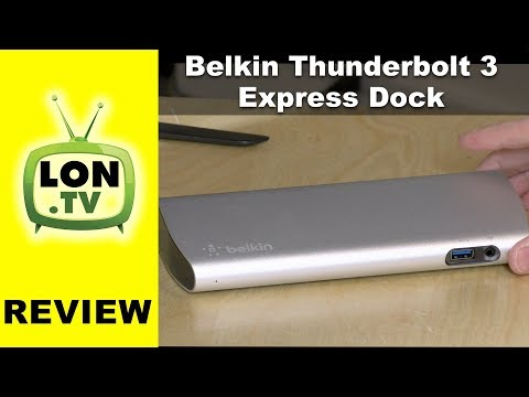 Belkin Thunderbolt 3 Express Dock Review