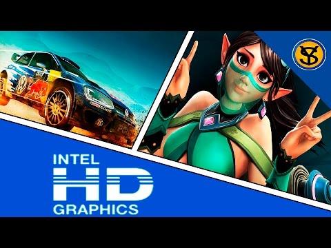 rendimiento de juegos modernos en intel hd graphics braswell intel pentium nnn