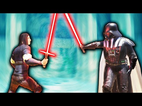 DARTH VADER Vs KYLO REN In Blades And Sorcery VR! WHO WILL WIN?