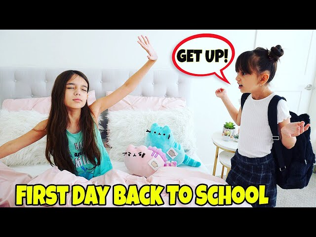 GRWM First Day of School 2019 Morning Routine - NEW SCHOOL!